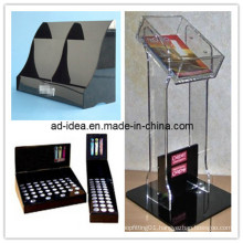 Black Color Acrylic Pop Display with OEM, Acrylic Banner