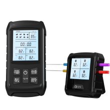 RF 433Mhz Wireless Grill Thermometer with 4 Probes Channel
