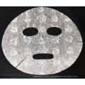Beauty Skin Care Dry Nonwoven Printed Colors 3D Facial Mask Rose Printing Facial Mask Sheets