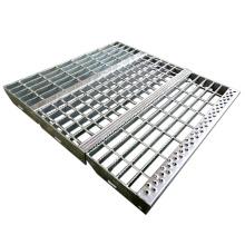 Outdoor Galvanized Steel Stair Tread | Hot Dip Galvanized Stair Tread