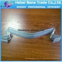 Galvanizar los ganchos de la planta / gancho del tomate con ganchos de metal de cuerda / colgantes