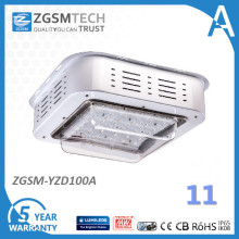 100W Surface Mounted Canopy LED Gas Station Light