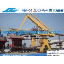 Slag Steel Hydraulic Jetty Power Plant Machine E Crane