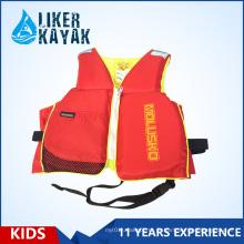 High Quality EPE Inflável Crianças Watersport Float Life Vest