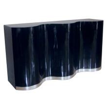 Simple Black Cabinet for Hotel Furniture