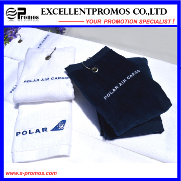 Рекламные высокого качества хлопок гольф-полотенце (EP-T58704)