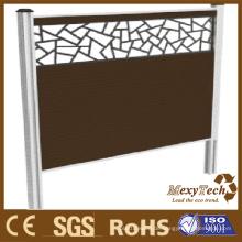 Aluminium Holz-Folding-Bildschirm