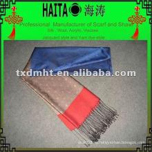 Chal de imitación de seda