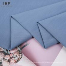 Tecidos de algodão de nylon liso de alta qualidade