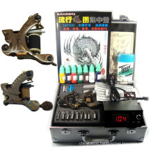Professional Tattoo Kit Complete with 3 Guns/Power/Needles/Ink