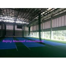 Maunsell International Высокое качество ПВХ напольных покрытий для крикетного суда в помещении / на открытом воздухе