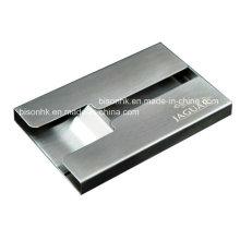 Металлический кармашек для визитных карточек
