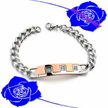 2015 magasin de vente en ligne de Noël hommes main main chaîne hommes 3161 bracelet en acier inoxydable bracelet bracelet de charme européen