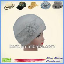Hot Selling Winter Rabbit Hair Hat beret winter hat hats women beret white beret hats winter beret , LSA07