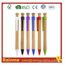 Bolígrafo de bambú para papelería ecológica