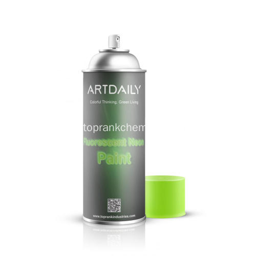 Fluoreszierende Neon Paint Spray