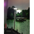 Iron Triangle Garden Lamp