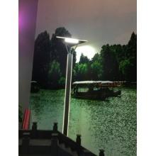 Iron Triangle Garden Lamp