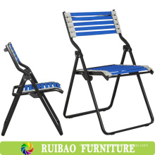 Hot sale Metal Frame Outdoor Bungee Folding Chair in Fishing Chair