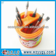 promotional plastic toothbrush holder / pvc pen holder for children
