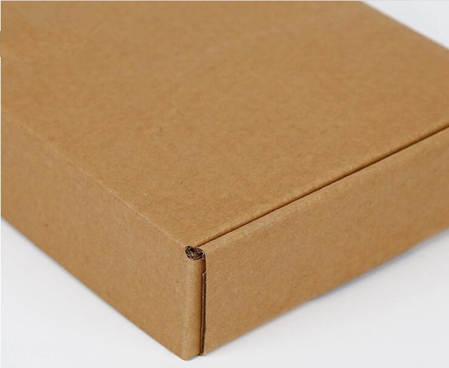 corrugated folding box