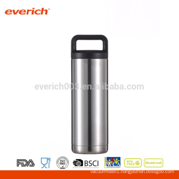 Wholesale Double Wall Stainless Steel 18oz Silver Bottle