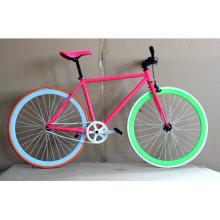 La bicicleta colorida del camino de la bici de Fixie del superventas (FP-FGB004)
