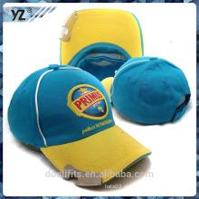 5 панелей с открытой бейсбольной шляпой для бейсбола с плоской эмборией.