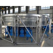 Maquina del silo con sistema engargolado roladora de silo y tanques con lamina de acero engargolada
