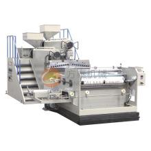 Machine de film de bâti de PE d'extrudeuse de 1000mm deux