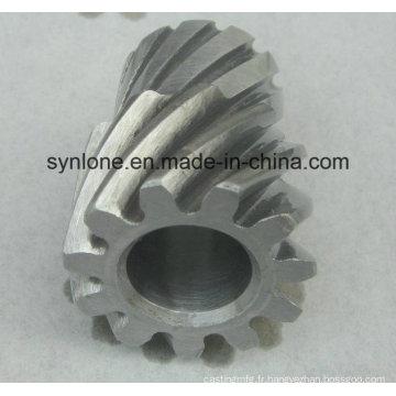 Engrenage de forgeage en alliage d'acier avec usinage CNC