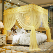 Luxury Large  Folding Foldable Fold princess Solid Mosquito Net  Nets For Bed