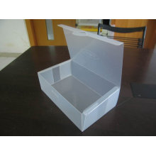 Clear Plastic PVC Folding Boxes for Baby Shoes