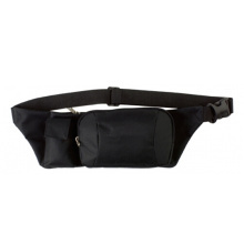 Promotional Black Waist Bag Bum Bag with Phone Holder