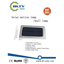Lámpara de jardín solar con luz de sensor de movimiento PIR