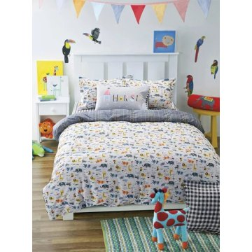 Tolles 100% Baumwolle Bettwäsche Set für Mädchen