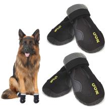 Botas para mascotas impermeables al aire libre de 4 piezas