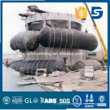 Airbag flotante de goma del maine del caisson del certificado de CCS
