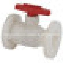 Шаровой кран фланцевый FRPP / пластиковый шаровой клапан