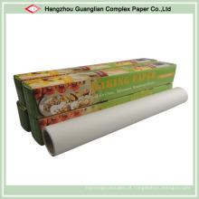 Fábrica profissional de papel de pergaminho de cozimento de silicone