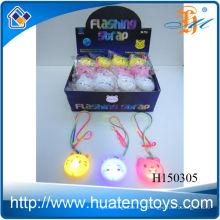 Оптовые партии палочки новизны вспышки привели игрушка ожерелье свечения для детей H150305