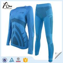 Women Long Johns Thermal Underwear Set