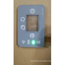 Kundenspezifischer LED-Membranschalter mit wasserdichter Funktion