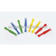 Верхние штыри ручки quatity, комплект пластичных штырей 24 ПК с цветастым,