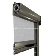 Bronze Aluminium Frame Rolling Insect Screens
