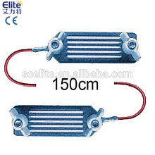 Electric fence energizer wire connector
