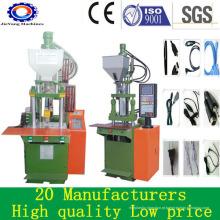 Máquina de moldagem por injeção vertical de PVC para cabo de conexão