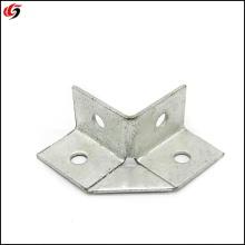seismic bracing four holes angle bracket