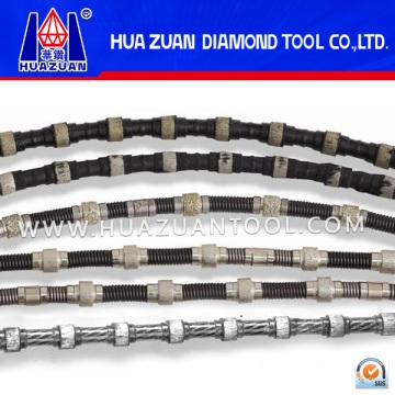 Diamond Wire Saw Beads para pedreiras