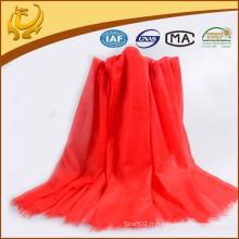 2015 Écharpe en cachemire en tissu à la mode en rouge à la mode pour femme